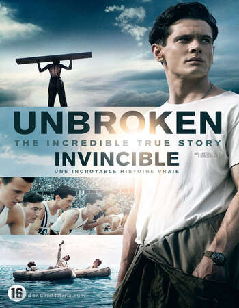 Unbroken 2014 Hindi Dual Audio 720p BluRay ESubs