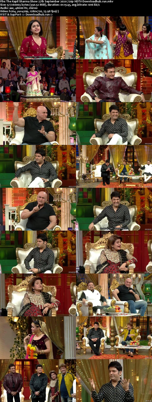 The Kapil Sharma Show 27 September 2020 Episode 145 HDTV 720p 480p