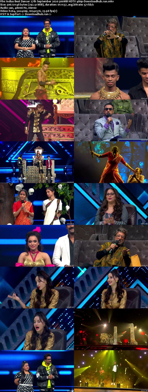 Indias Best Dancer 27 September 2020 Episode 32 HDTV 480p