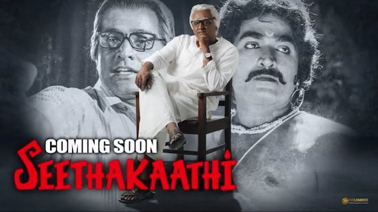 Seethakaathi 2020 Hindi Dubbed 720p HDRip x264