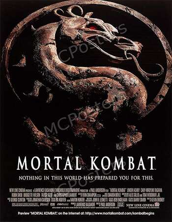 Mortal Kombat 1995 Hindi Dual Audio 300MB BluRay 480p ESubs