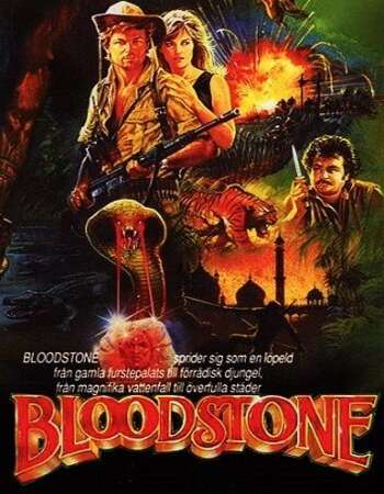 Bloodstone 1988 Hindi Dual Audio 280MB BluRay 480p ESubs