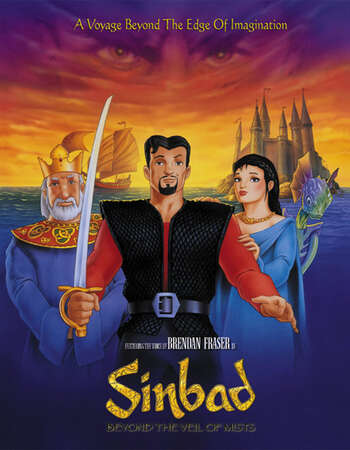 Sinbad Beyond the Veil of Mists 2000 Hindi Dual Audio 280MB WEBRip 480p ESubs