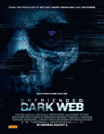 Unfriended Dark Web 2018 Hindi ORG Dual Audio 500MB BluRay 720p ESubs HEVC