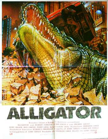 Alligator 1980 Hindi Dual Audio BRRip Full Movie 300MB Download