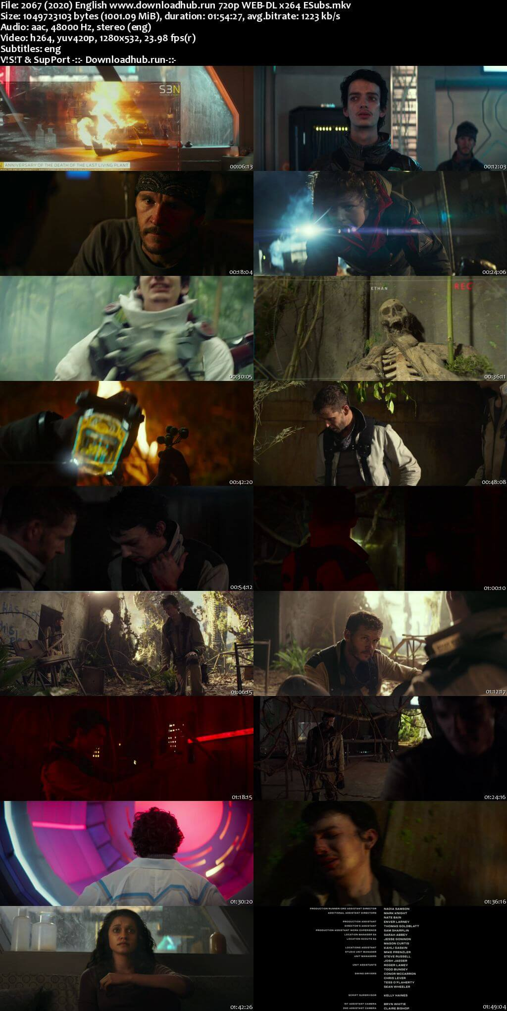 2067 2020 English 720p Web-DL 999MB ESubs