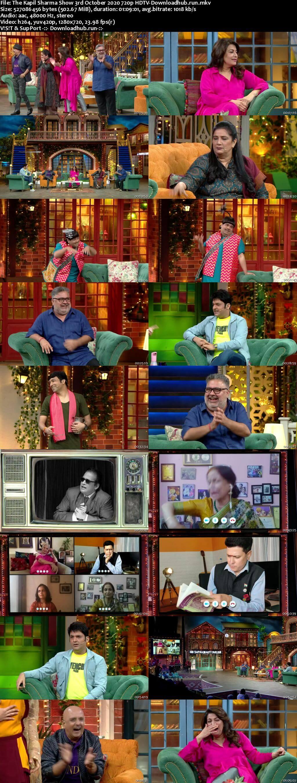 The Kapil Sharma Show 03 October 2020 Episode 146 HDTV 720p 480p