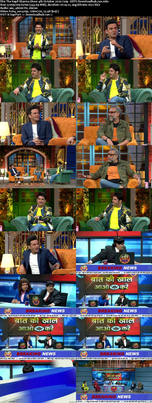 The Kapil Sharma Show 04 October 2020 Episode 147 HDTV 720p 480p