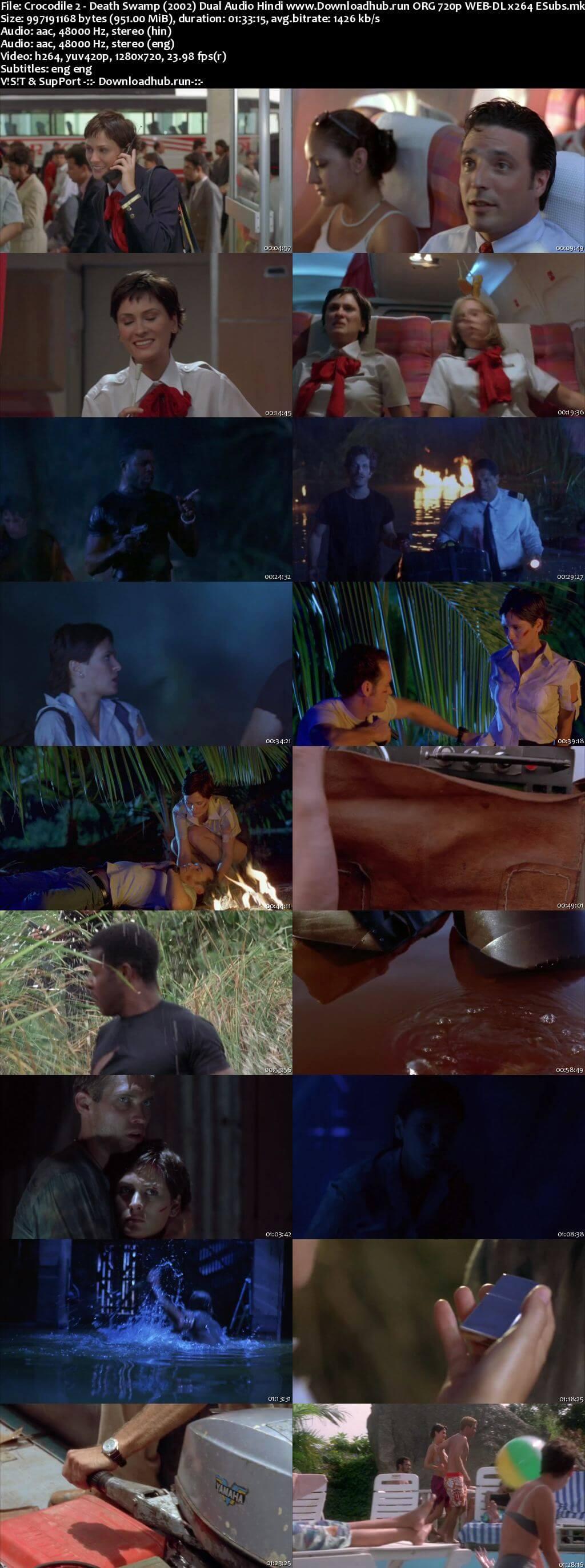 Crocodile 2 Death Swamp 2002 Hindi Dual Audio 720p Web-DL ESubs