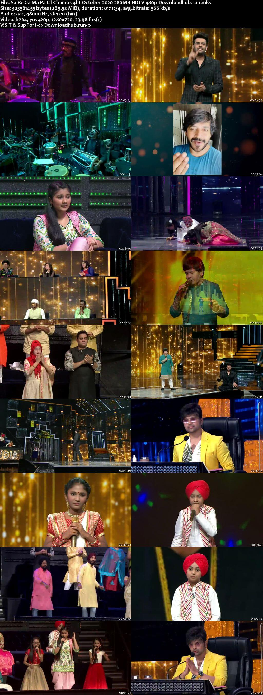Sa Re Ga Ma Pa Lil Champs 04 October 2020 Episode 32 HDTV 480p