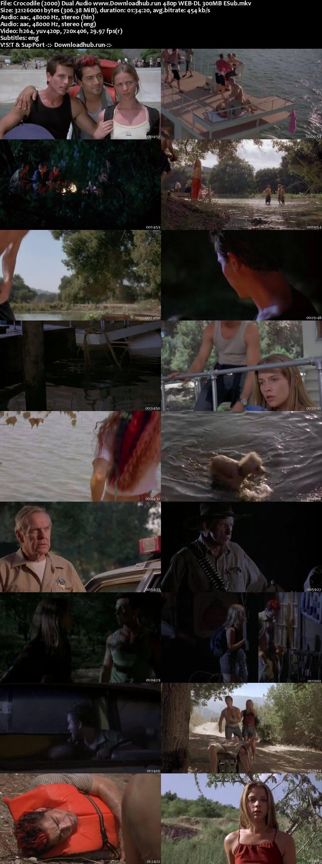 Crocodile 2 Death Swamp 2002 Hindi Dual Audio 300MB Web-DL 480p ESubs