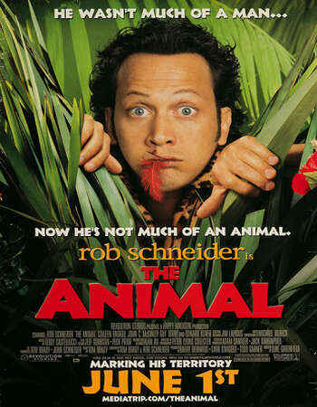 The Animal 2001 Hindi Dual Audio WEBRip Full Movie 480p Download