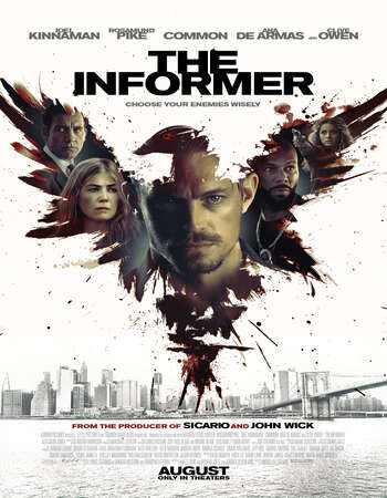 The Informer 2019 Hindi Dual Audio 720p BluRay ESubs