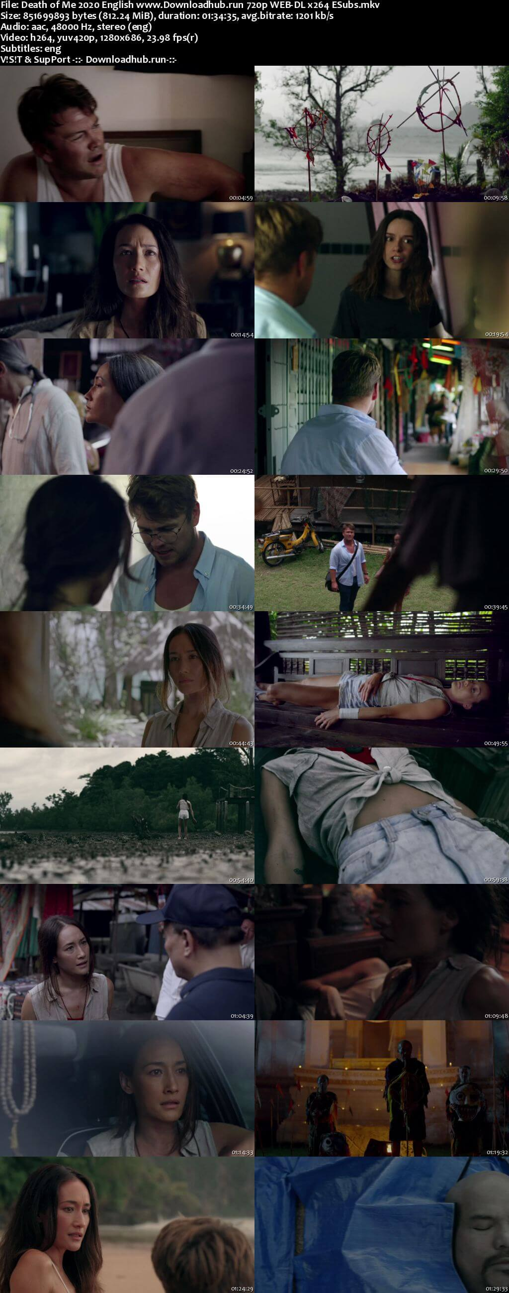 Death of Me 2020 English 720p Web-DL 800MB ESubs