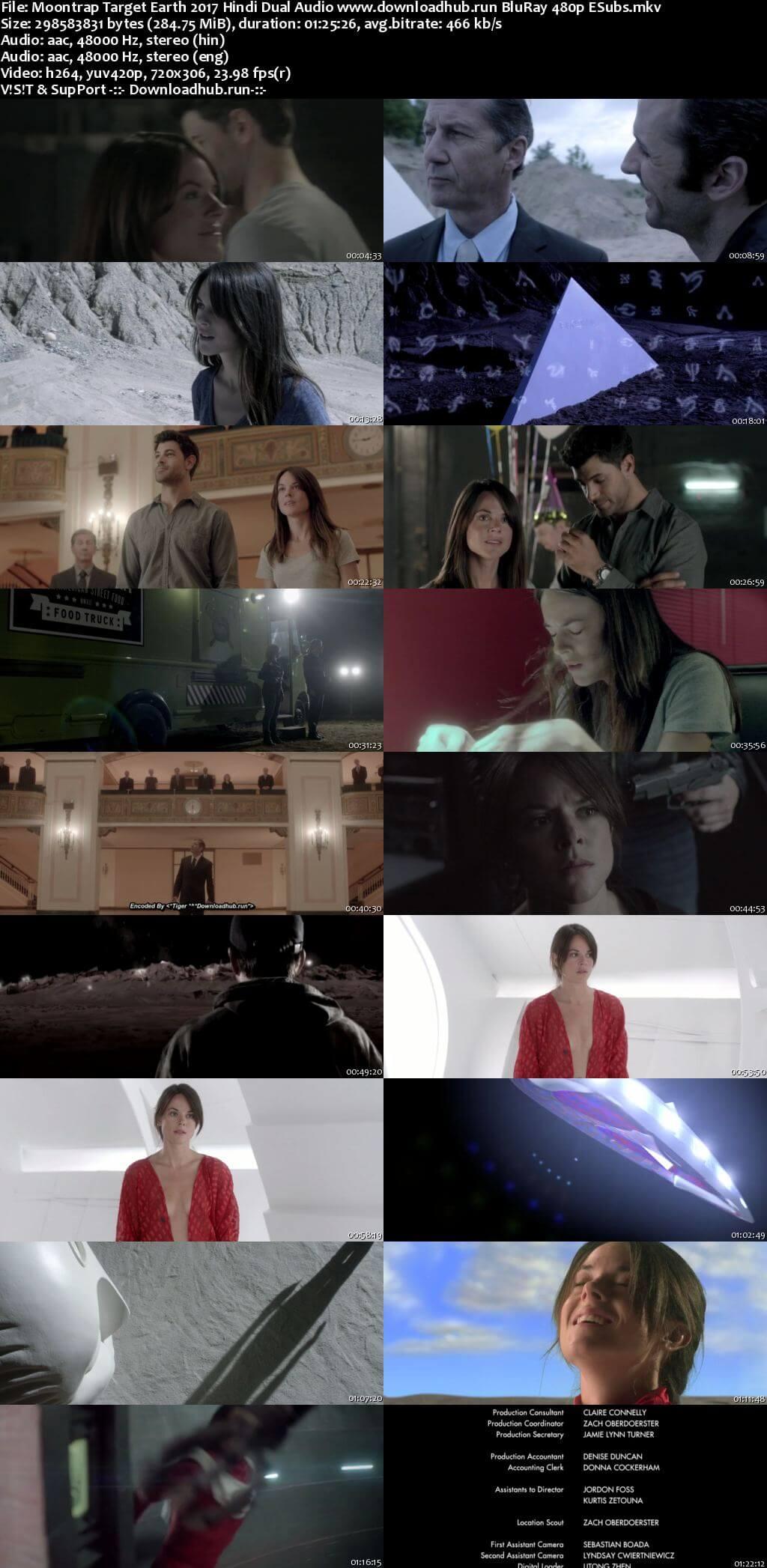 Moontrap Target Earth 2017 Hindi Dual Audio 280MB BluRay 480p ESubs