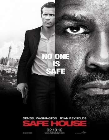Safe House 2012 Hindi Dual Audio BRRip Full Movie 480p Download