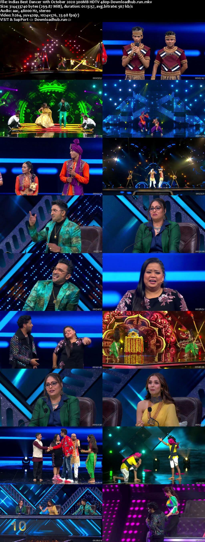 Indias Best Dancer 10 October 2020 Episode 35 HDTV 480p