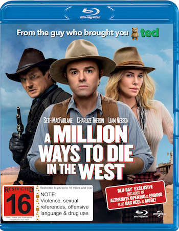 A Million Ways to Die in The West 2014 Dual Audio Hindi 720p BluRay 990mb