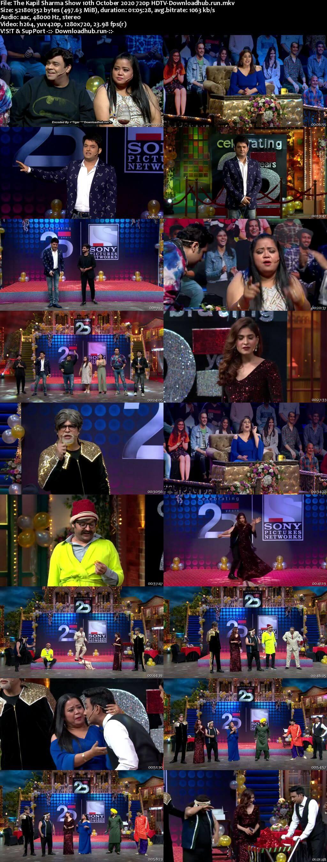 The Kapil Sharma Show 10 October 2020 Episode 148 HDTV 720p 480p