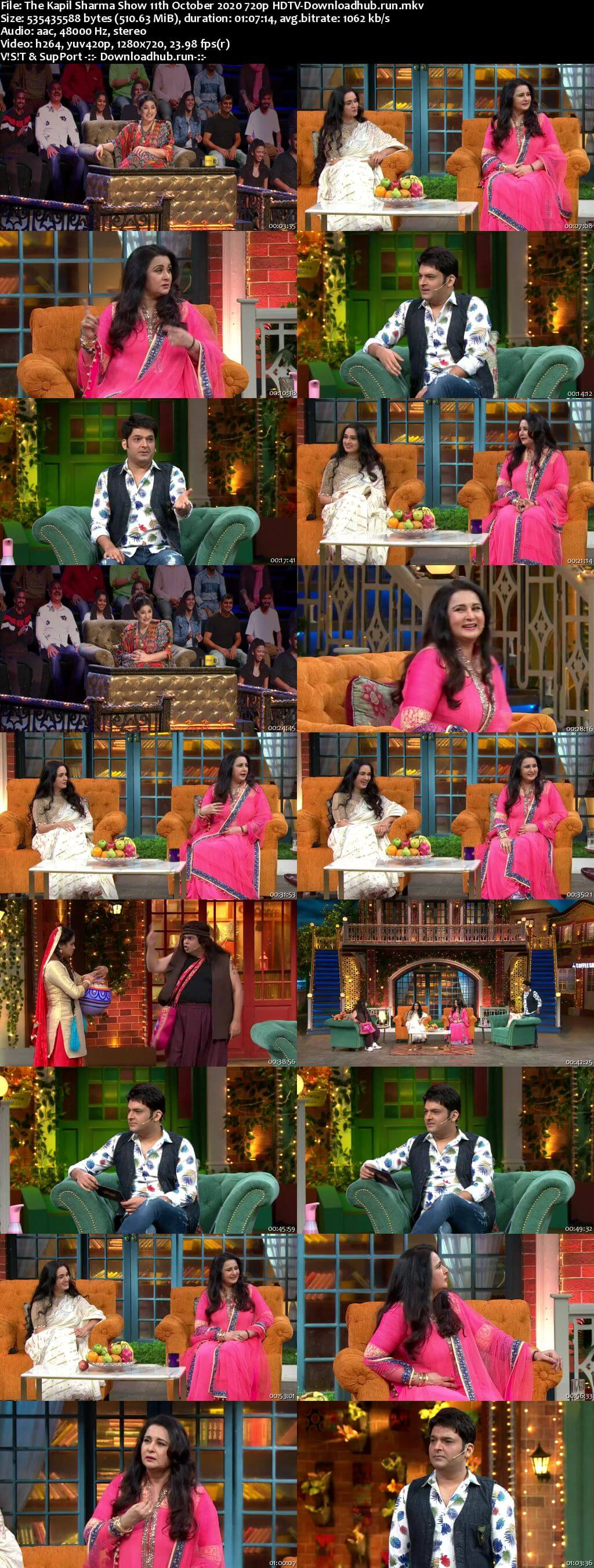 The Kapil Sharma Show 11 October 2020 Episode 149 HDTV 720p 480p