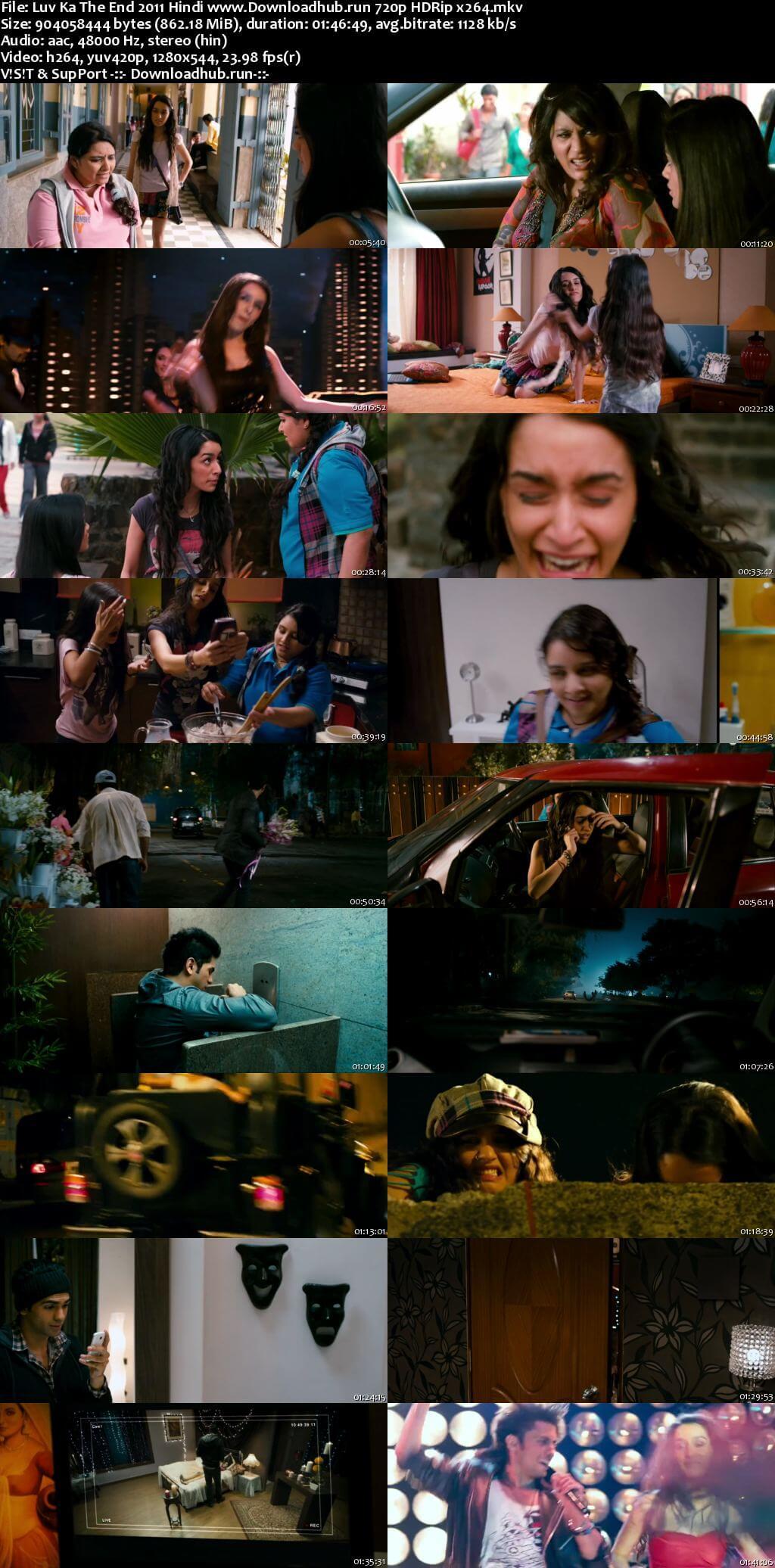 Luv Ka the End 2011 Hindi 720p HDRip x264