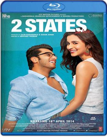 2 States 2014 Hindi 480p BRRip 400MB