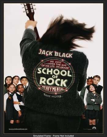 School of Rock 2003 Hindi Dual Audio 720p BluRay MSubs