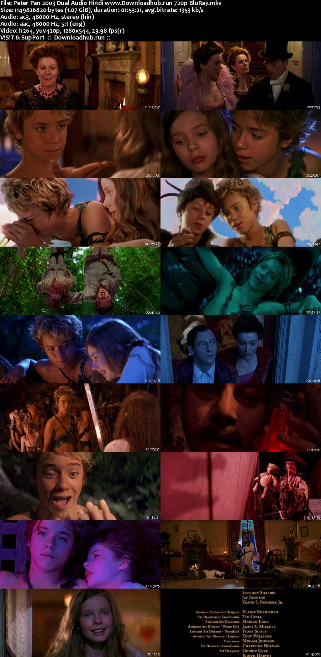 Peter Pan 2003 Hindi Dual Audio 720p BluRay x264
