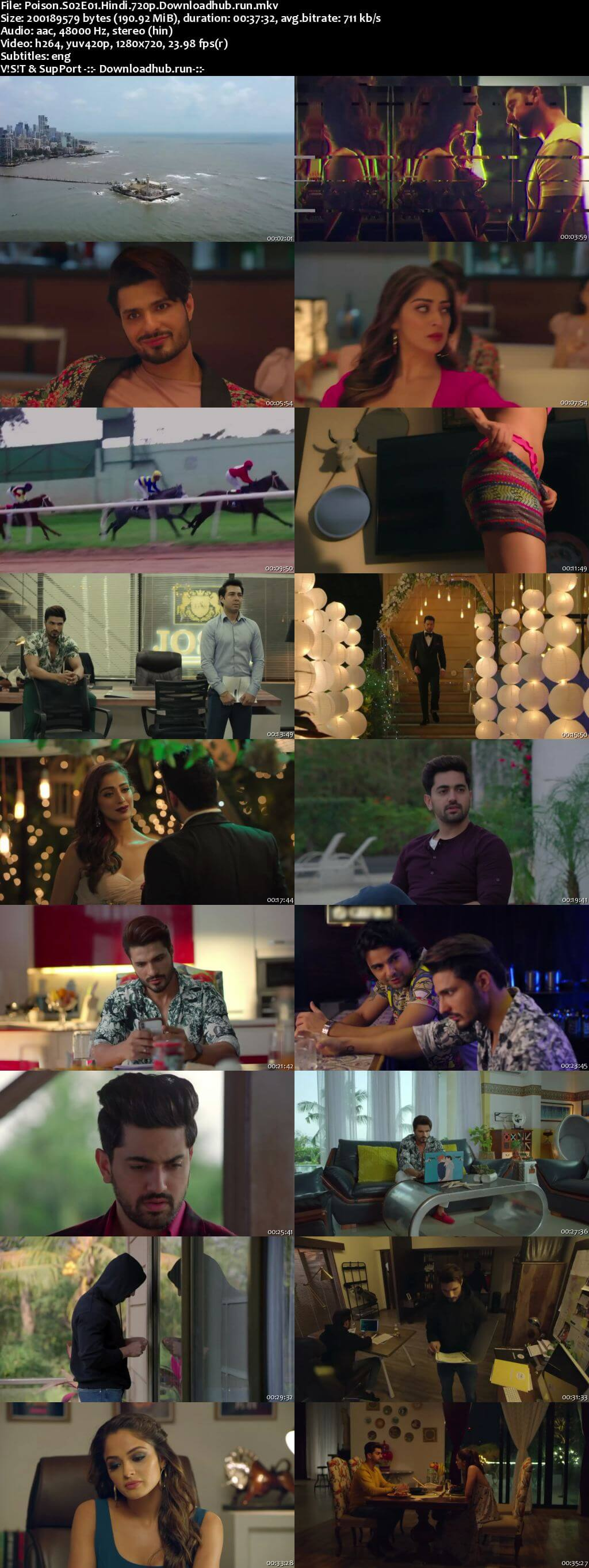 Poison 2020 Hindi Season 02 Complete 720p HDRip ESubs