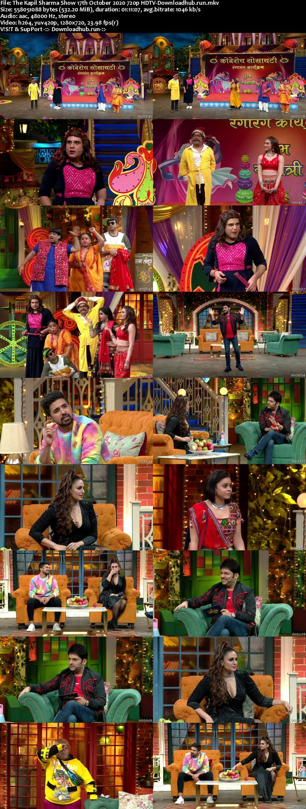 The Kapil Sharma Show 17 October 2020 Episode 150 HDTV 720p 480p