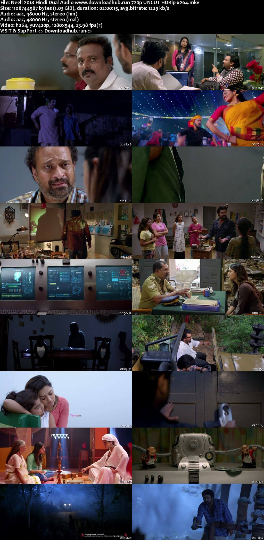 Neeli 2018 Hindi Dual Audio 720p UNCUT HDRip x264