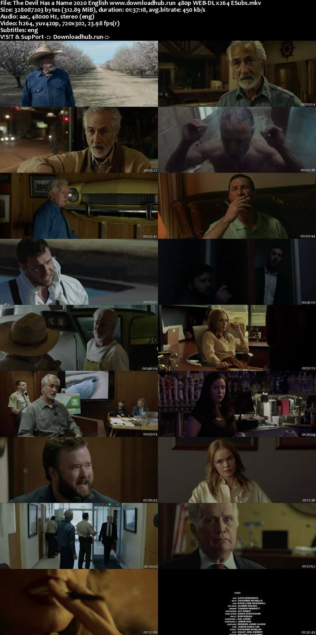 The Devil Has a Name 2019 English 300MB Web-DL 480p ESubs