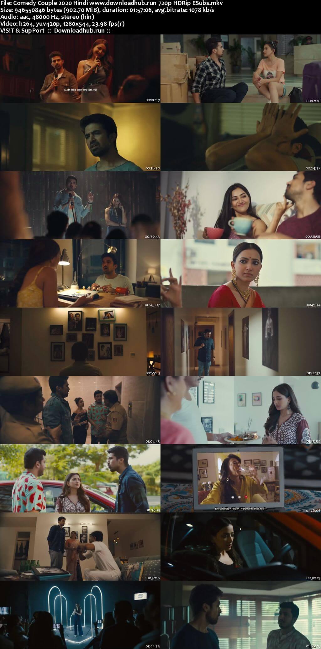 Comedy Couple 2020 Hindi 720p HDRip ESubs