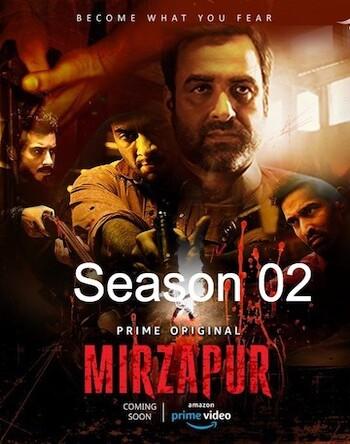 Mirzapur 2 2020 Amazon S02 Hindi 480p HDRip x264 800MB ESubs