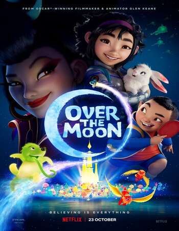 Over the Moon 2020 Hindi Dual Audio 300MB Web-DL 480p MSubs