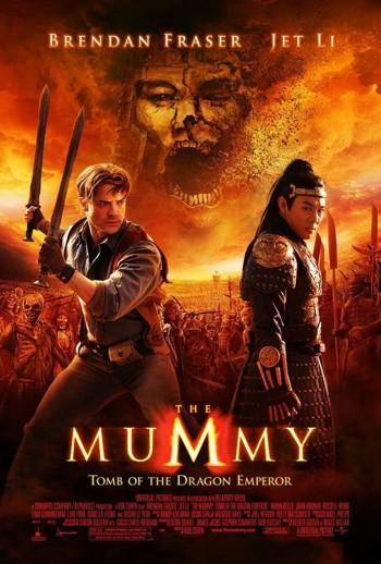 The Mummy Tomb of the Dragon Emperor 2008 Dual Audio Hindi English BRRip 720p 480p Movie Download