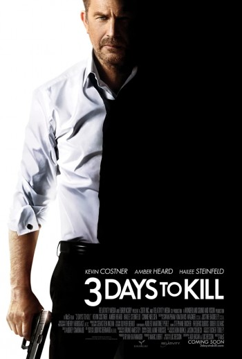 3 Days To Kill 2014 Dual Audio Hindi English BRRip 720p 480p Movie Download