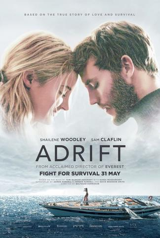 Adrift 2018 Dual Audio ORG Hindi 480p BluRay x264 300MB ESubs