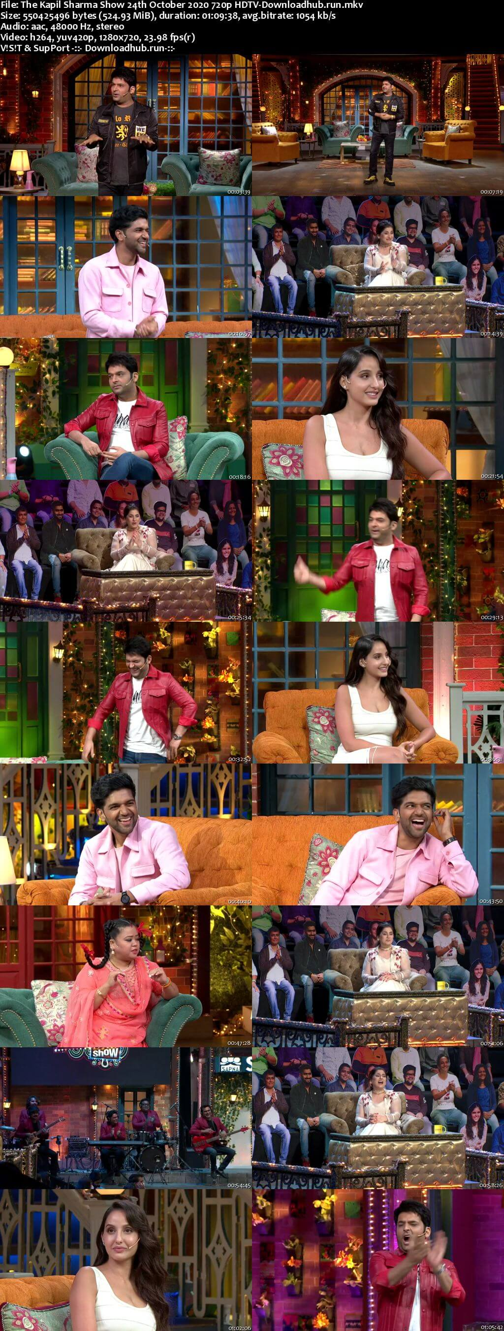 The Kapil Sharma Show 24 October 2020 Episode 152 HDTV 720p 480p