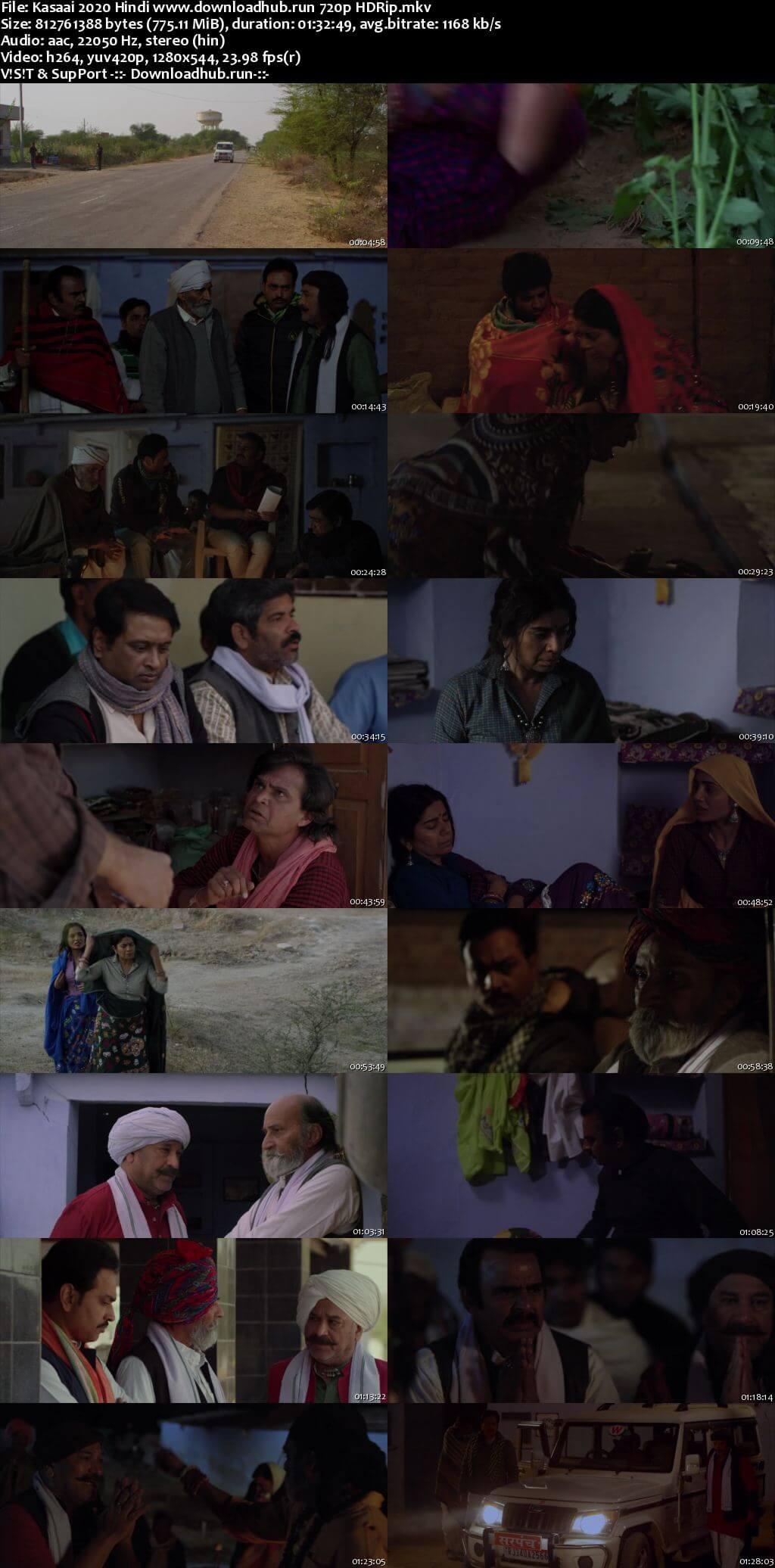 Kasaai 2020 Hindi 720p HDRip x264