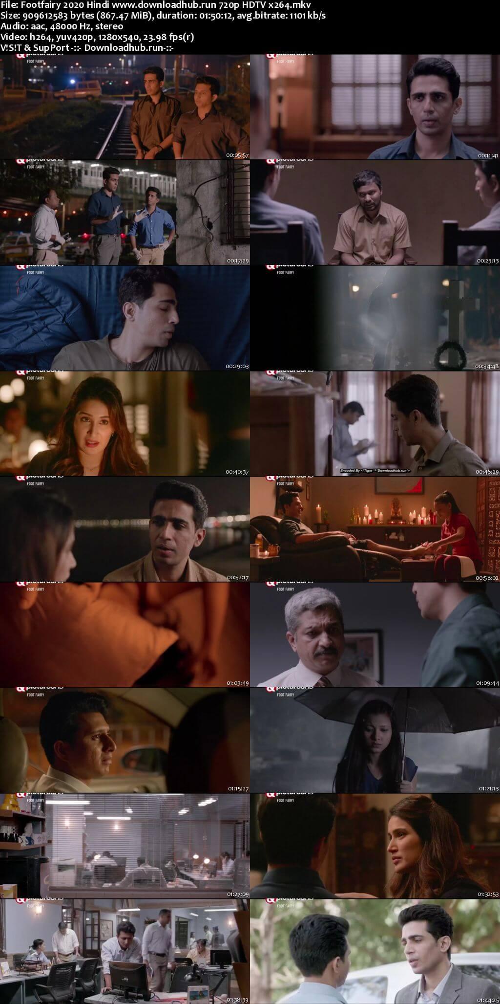 Footfairy 2020 Hindi 720p HDTV x264