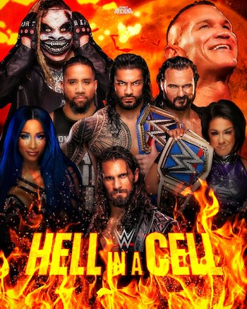 WWE Hell In A Cell 2020 PPV WEBRip 720p 480p x264 700MB