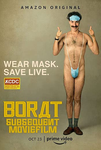Borat Subsequent Moviefilm 2020 English 720p Web-DL 750MB ESubs