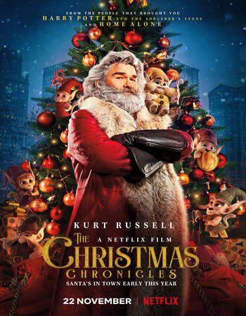 The Christmas Chronicles 2018 Hindi Dual Audio Movie 720p Web-DL ESubs