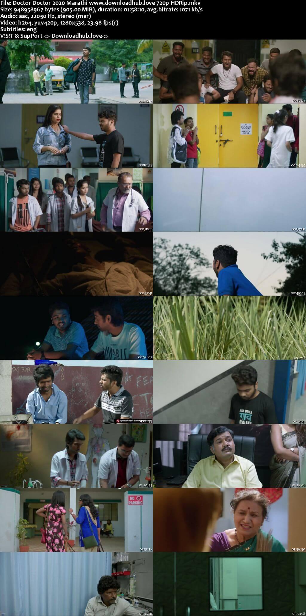 Doctor Doctor 2020 Marathi 720p HDRip ESubs