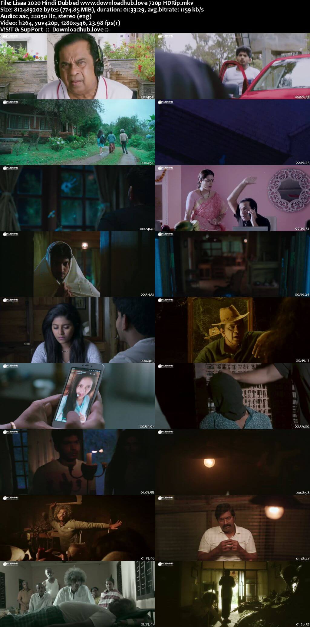 Lisaa 2020 Hindi Dubbed 720p HDRip x264