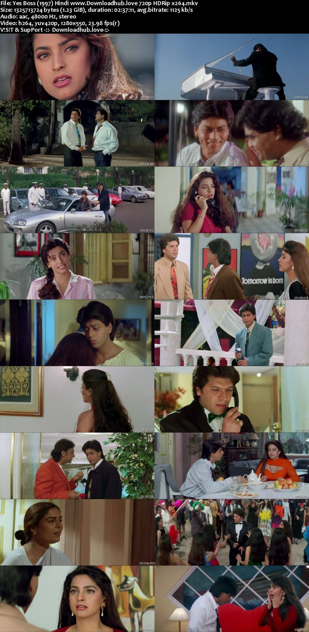 Yes Boss 1997 Hindi 720p HDRip x264