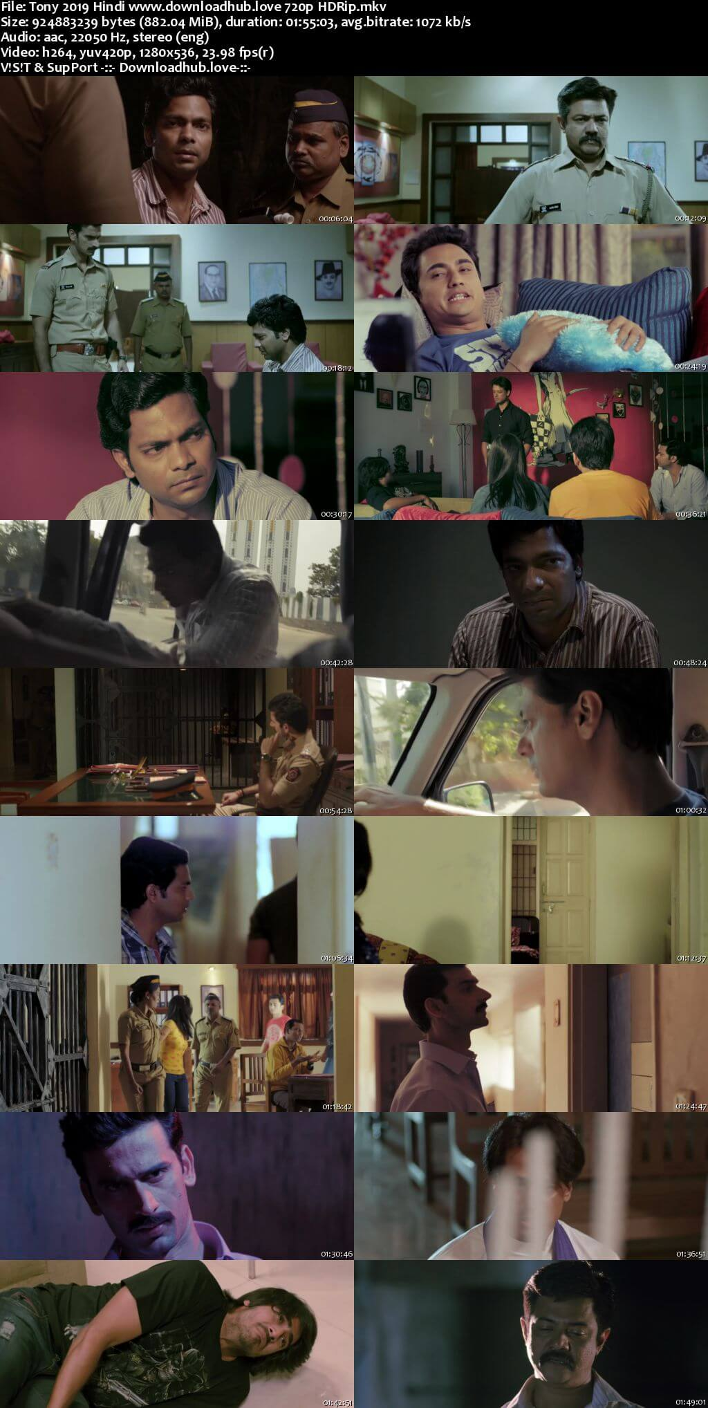 Tony 2019 Hindi 720p HDRip x264