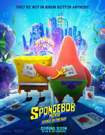 The SpongeBob Movie Sponge on the Run 2020 Hindi Dual Audio 450MB Web-DL 720p MSubs HEVC