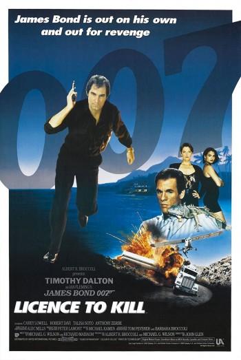Licence To Kill 1989 Dual Audio Hindi English BRRip 720p 480p Movie Download